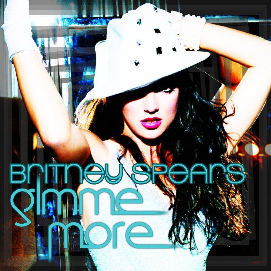 Britney Spears – Gimme More (single cover art)