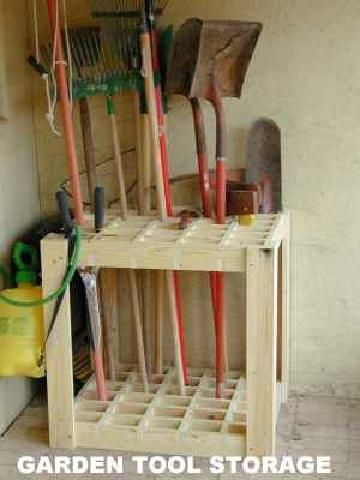 Google image result for for Garden tool storage ideas