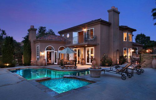 Aspire to affluence the house pinterest for Pictures of nice mansions