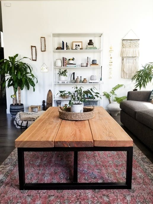 From Blank Slate Spec House To Bold Boho Home Living Room Decor