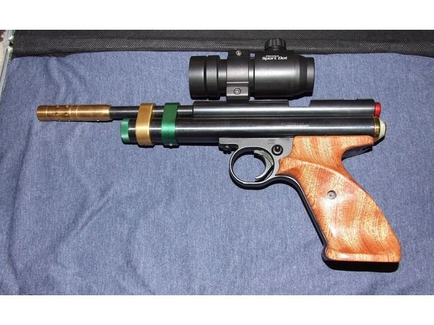 Crosman 2240 with a steel Breech and loads of other mods