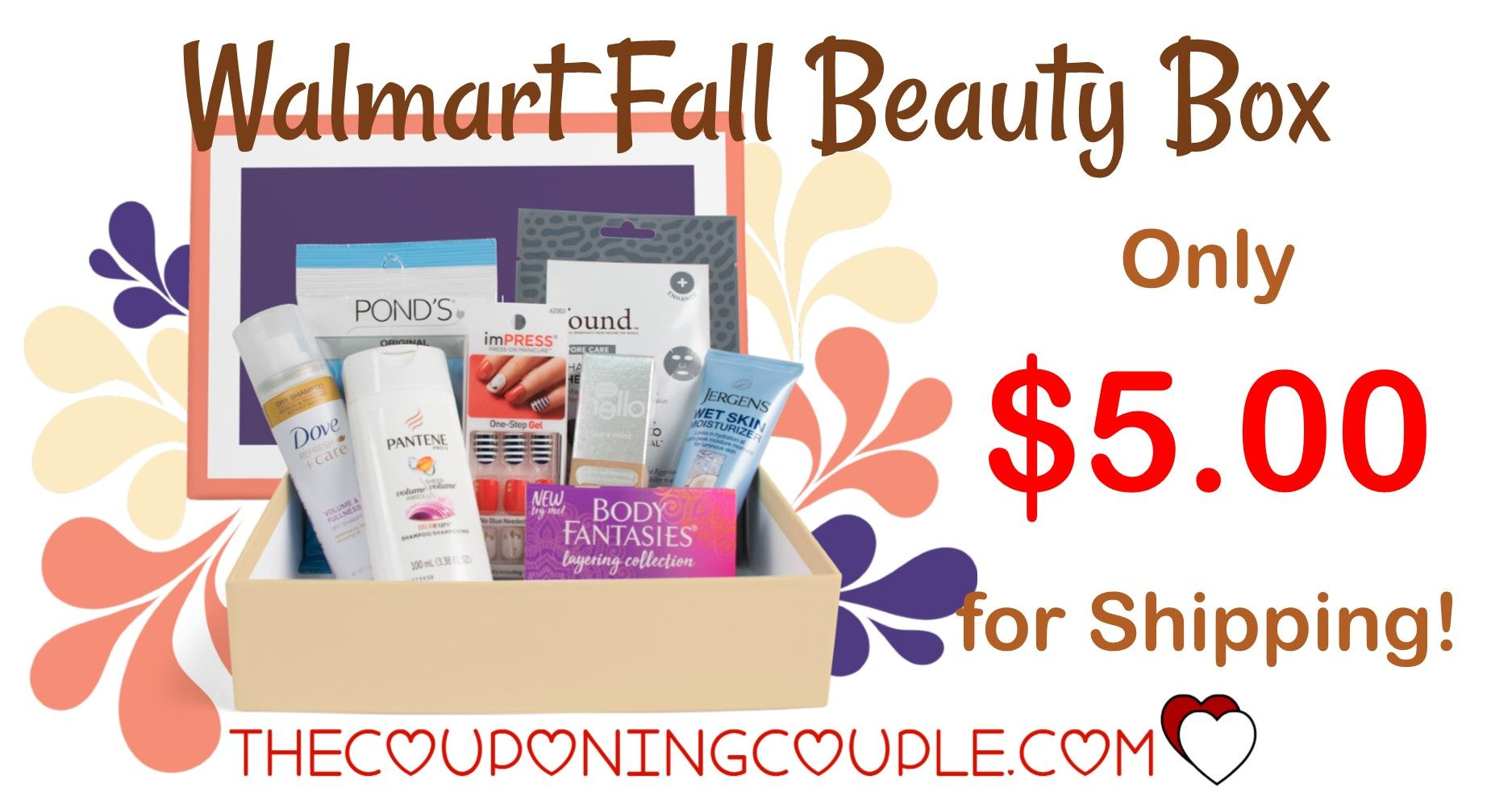 Walmart Beauty Box! Just Pay 5 Shipping! Get Yours Now