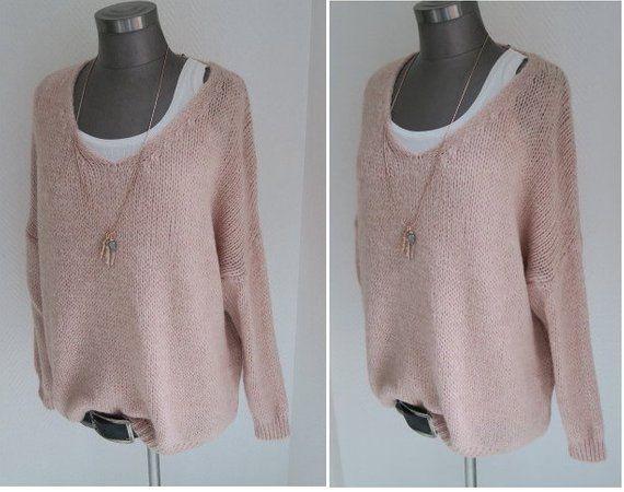 new concept 5a837 901c8 oversized Pullover, altrosa pullover, pulli altrosa, rosa ...