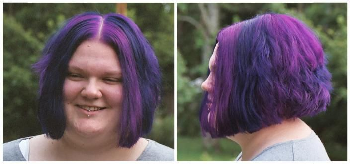 Hair Color Suggestion From A Friend Special Effects Deep Purple