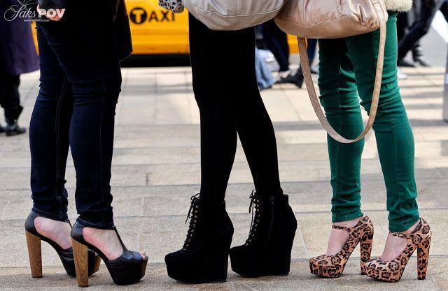 Sorprendentes zapatos de moda para gorditas 2015
