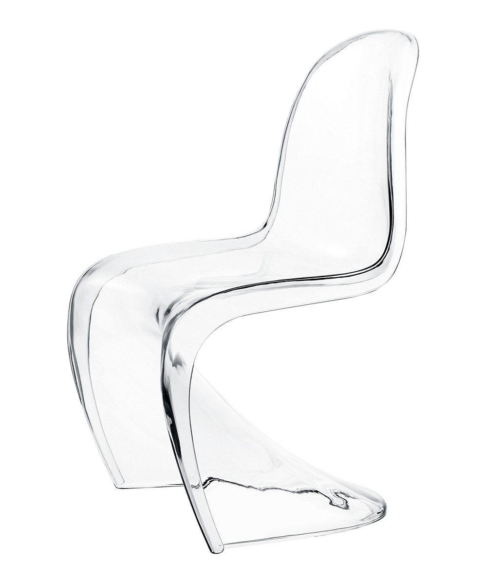 Transparent Panton Chair Dinning Room Pretty Please