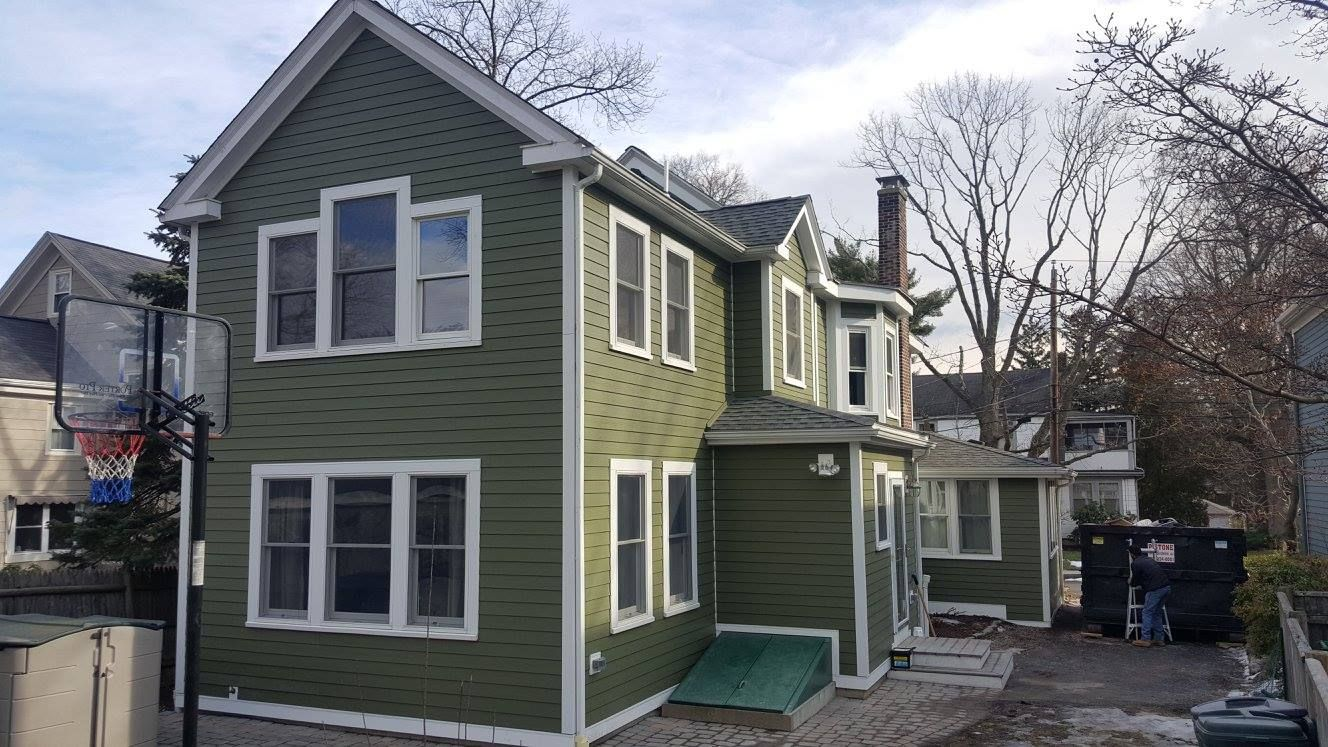 The Owner Originally Sought Help For A Partial Siding Job The House Had Asbestos Siding And Lead Upon James Hardie Siding House Styles Remodeling Contractors