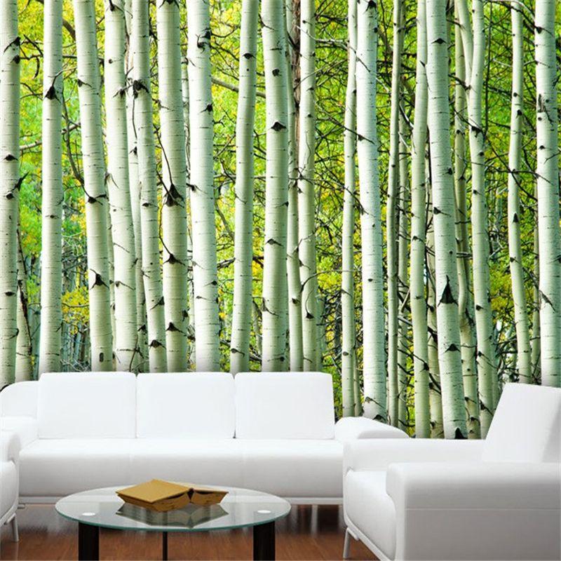 Goedkope Grote Moderne Muurschildering Behang Interieur 3d