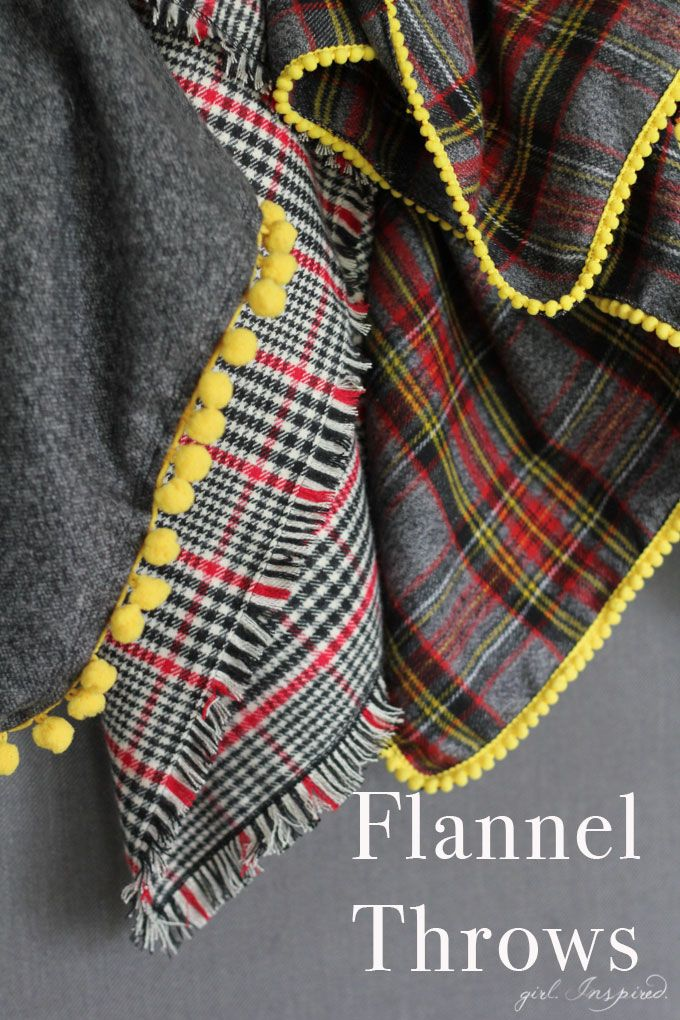 Flannel Throw Sewing Tutorial Get Ready For Cooler Weather With These Easy Blankets