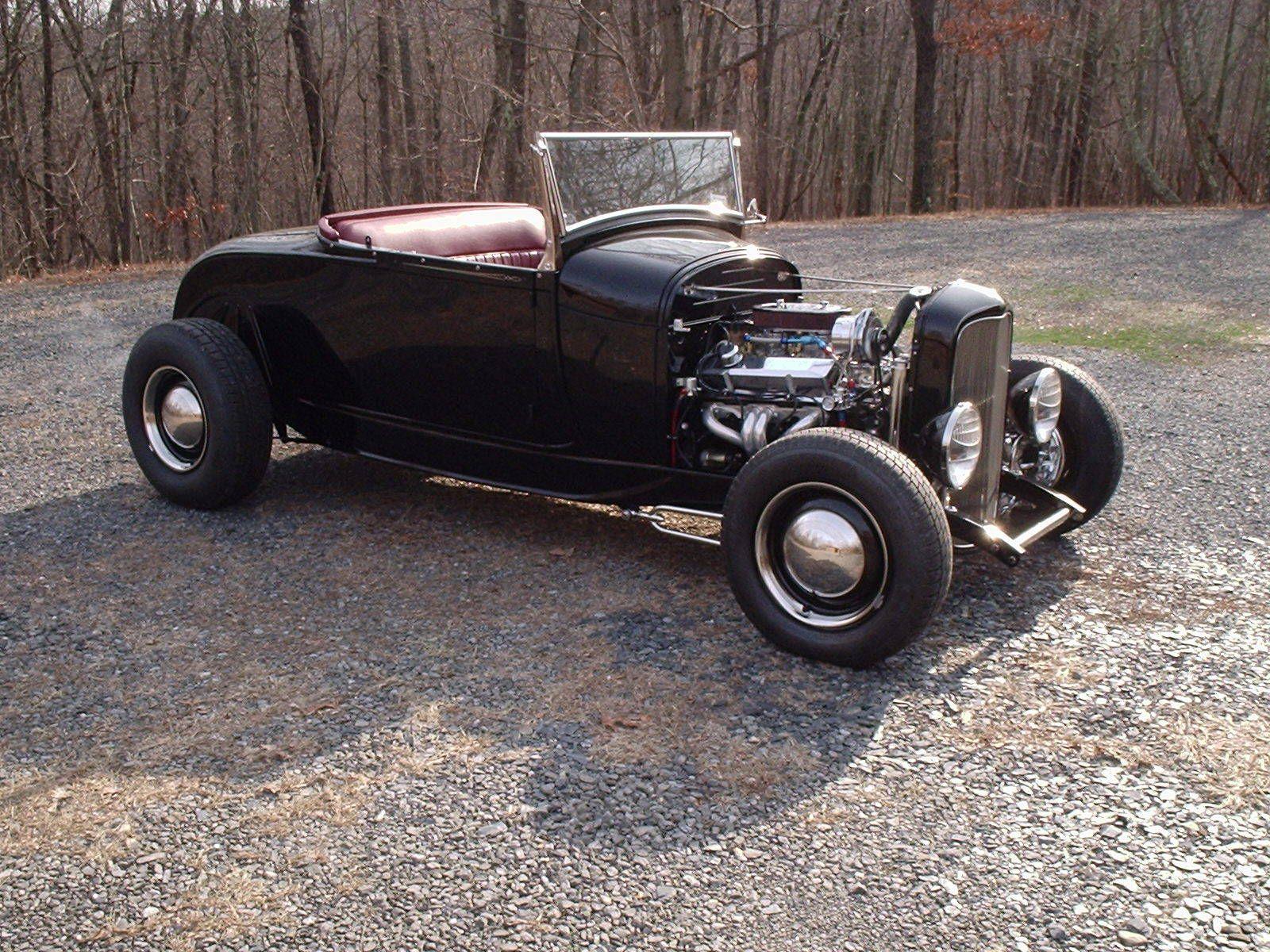 1929 ford a v8 hot rod roadster all steel on 32 frame