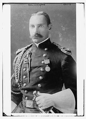 Photo of Col. J.J. Astor