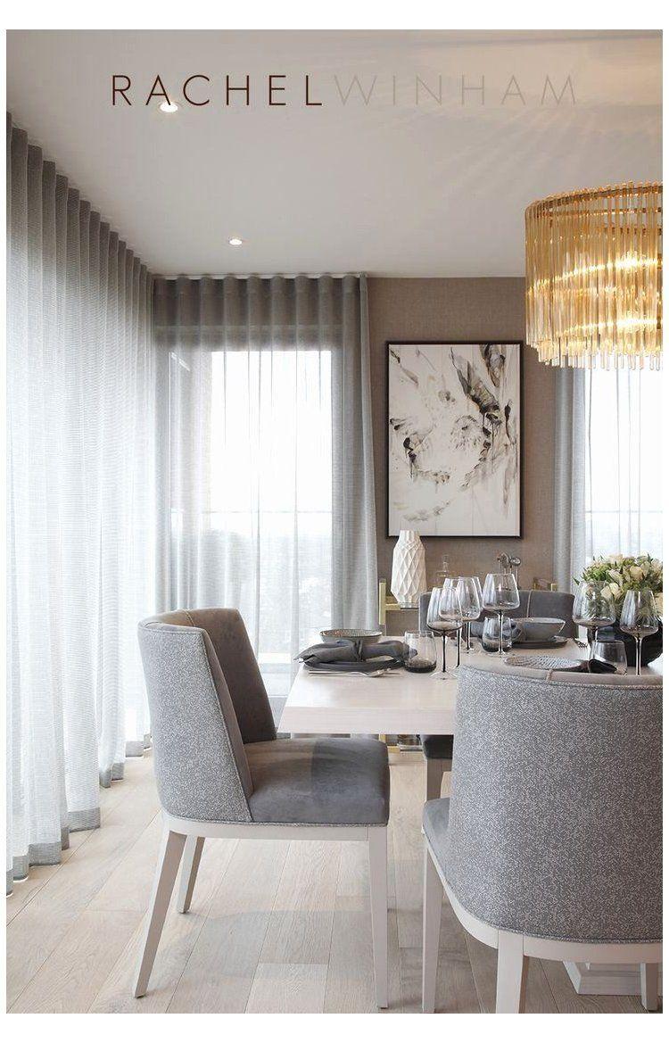 Casual Dining Room Window Treatments Beautiful Contemporary Dining Room Furniture Modern Black And White Contempora 2020 Tasarım Oda Oturma Odası Fikirleri Ev Için