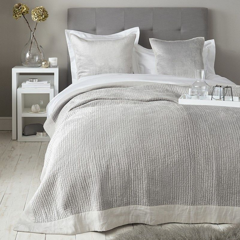 Vienne Quilt Cushion Covers Cushions Bedspreads Throws The White Company In 2021 Bed Spreads Bed Linens Luxury Bed Linen Design