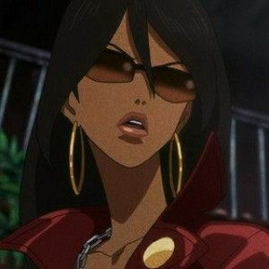 anime icons Black anime characters, Cartoon profile
