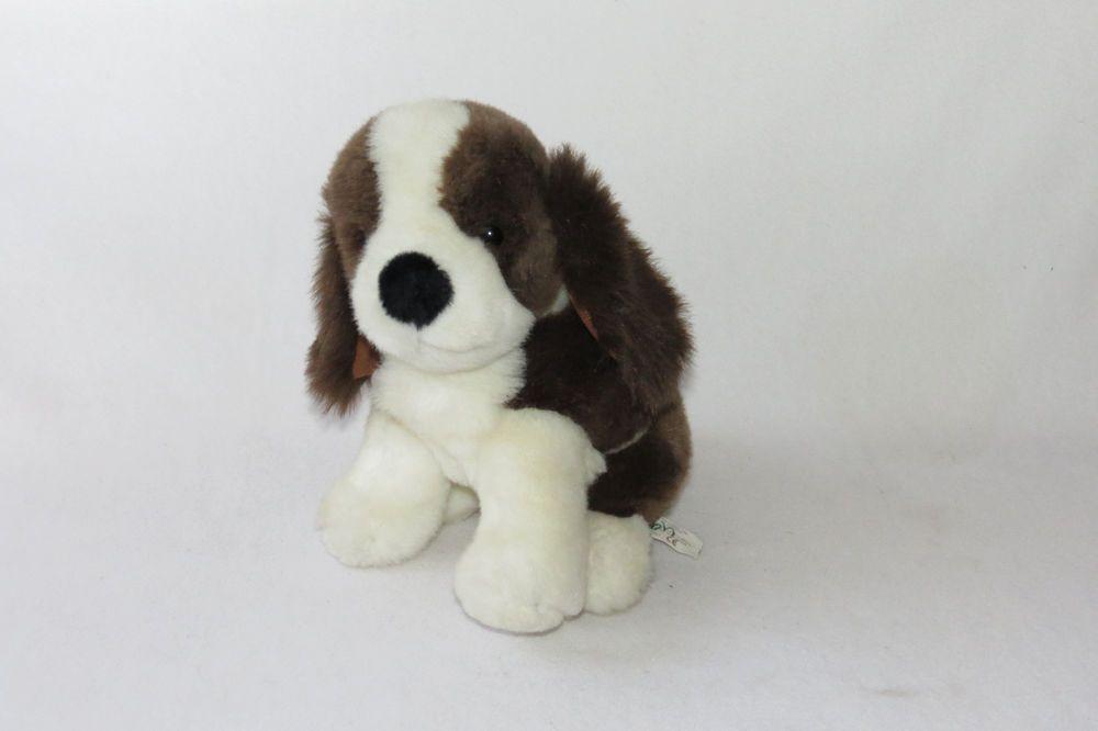 Chosun Brown White Beagle Seated Plush Stuffed Baby Toy 10