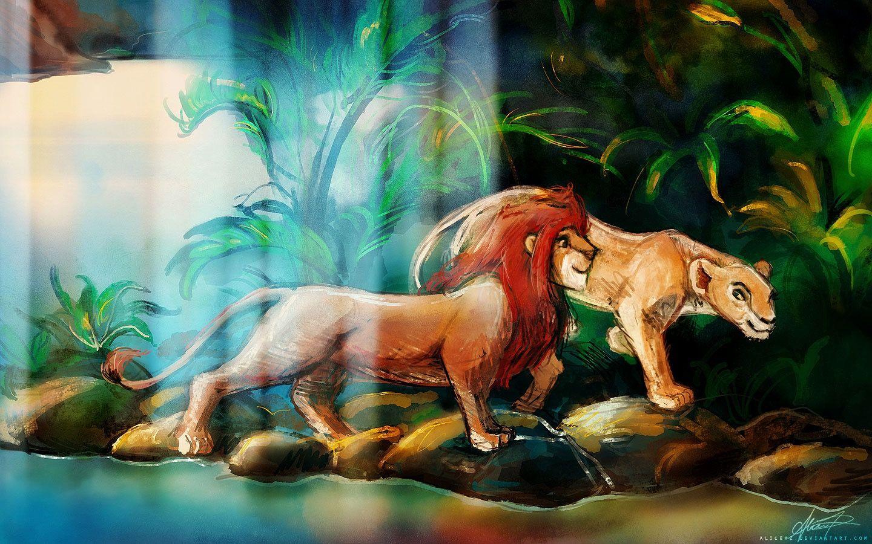 Simba and nala by alicexz at deviantart disney pinterest