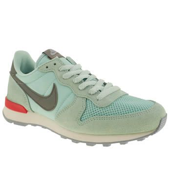 4760fc0042 Womens Pale Blue Nike Internationalist Trainers | schuh | Stuff to ...