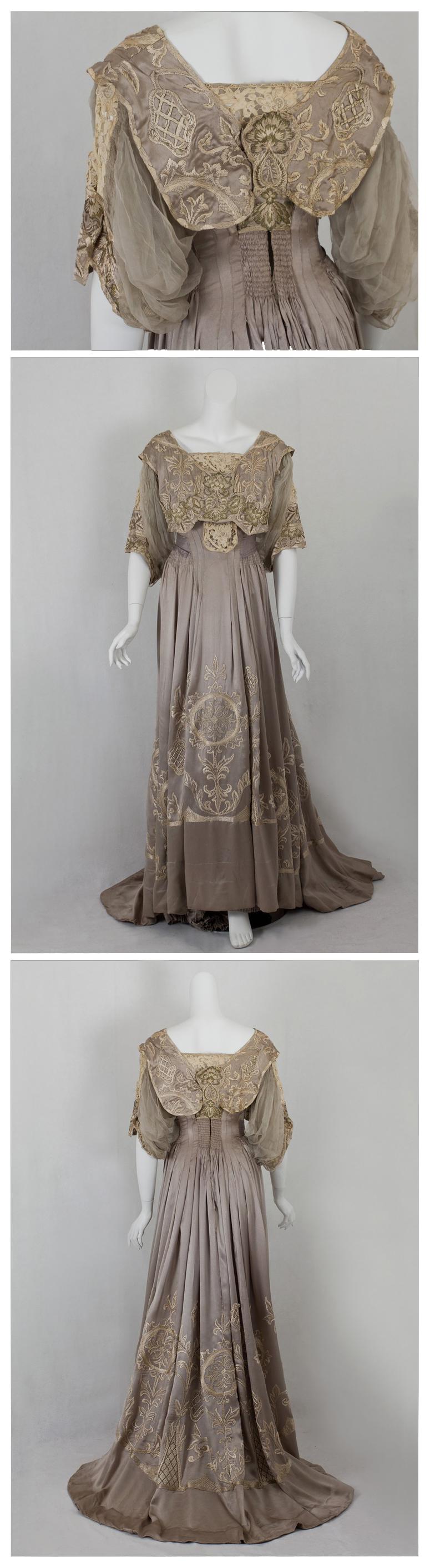 Callot Soeurs dinner dress, c.1905