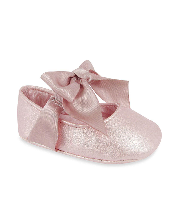 "Wendy Bellissimo™ ""Sarah"" Soft Sole Skimmer Prewalker Dress Shoes in Pink   Wendy Bellissimo"
