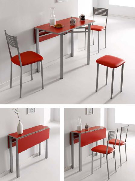Conjunto de mesa plegable y sillas ideas para el hogar for Sillas y mesas plegables