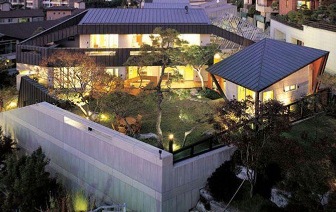 Korean modern house design house design pinterest for Korean style home decor