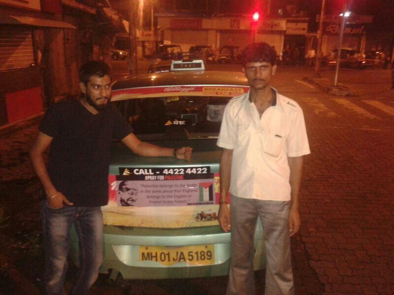 #auto rickshaw campaign pray for palestine #freepalestine #mumbai #india for palestine