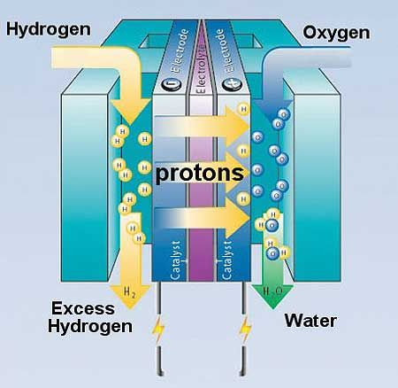 Fuel Cell Diagram Google Search Fuel Cell Pinterest Nasa