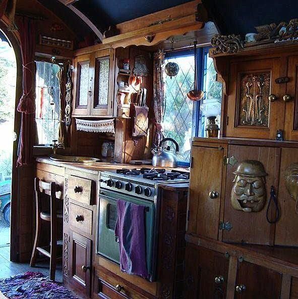 Image result for modern gypsy caravan interior | Outdoor She Caves ...