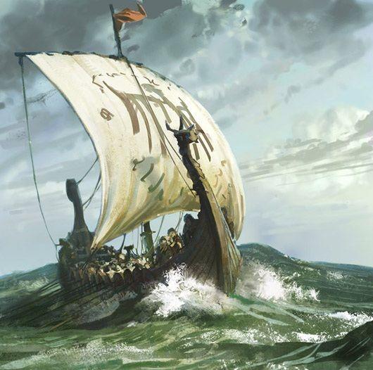 vikingeskib tattoo