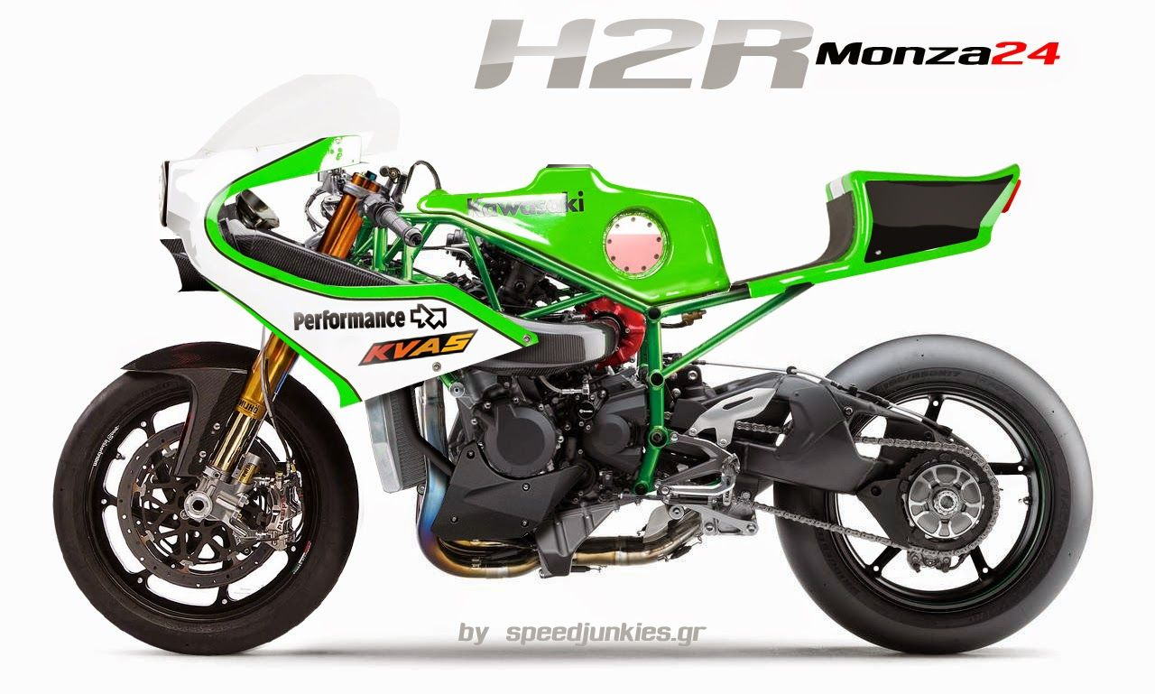 Kawasaki H2R Concept By SpeedJunkies