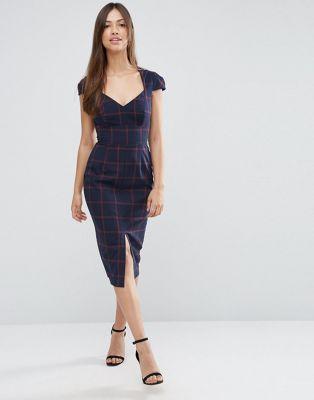 Sweetheart Neckline Pencil Dress
