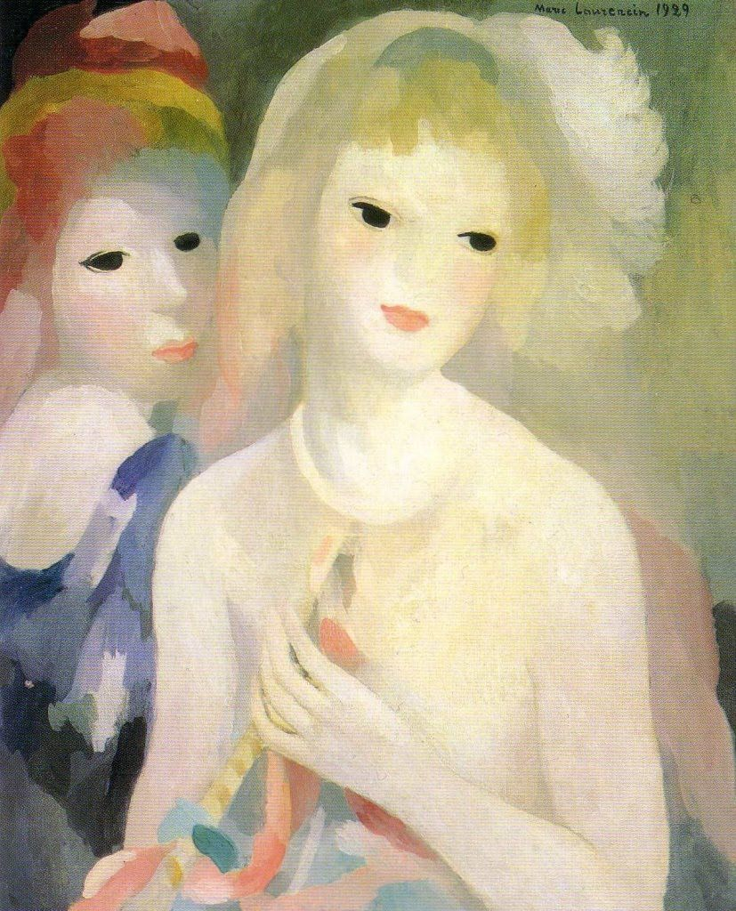 Marie Laurencin Paintings On Exhibit At Musee Marmottan Monet