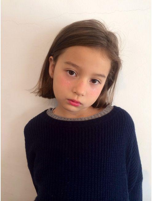 ピープル People People 外国人風 切りっぱなしボブ 子供のヘアカット キッズ ヘアスタイル 女の子 子供 ボブ