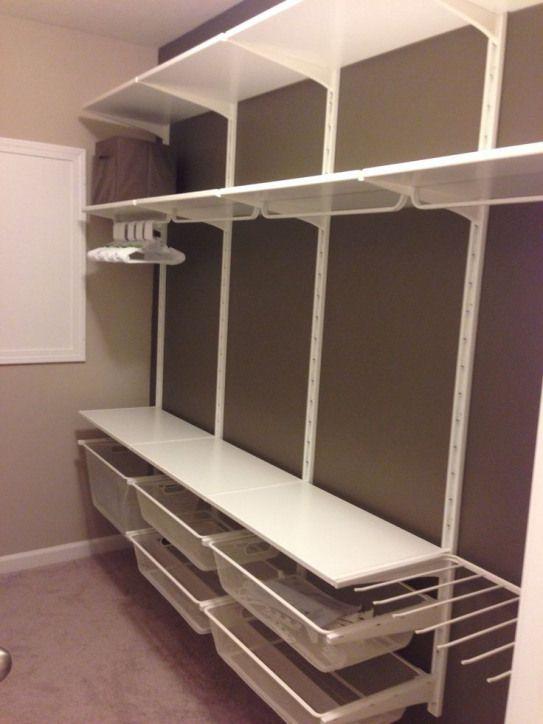 Agencement Cuisine : Nursery closet. IKEA Algot system Cest le modèle Algot. Semble bien quand pas
