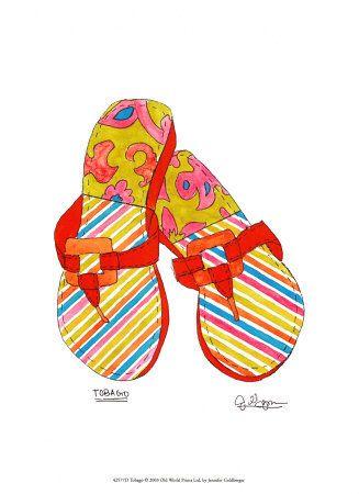fashion-shoes-sandals-flip flops- tobago JG