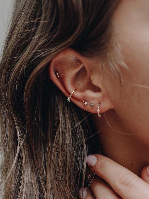 Mini Bar Stud earrings in 14K Gold fill, short gold bar stud, gold fill bar post earrings, go...