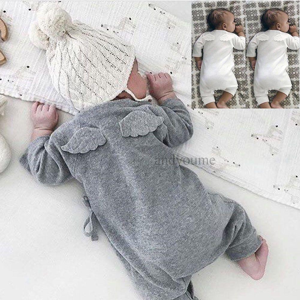 f7588f8a3 Newborn Baby Boy Girl Infant Romper Jumpsuit Bodysuit Cotton Clothes ...
