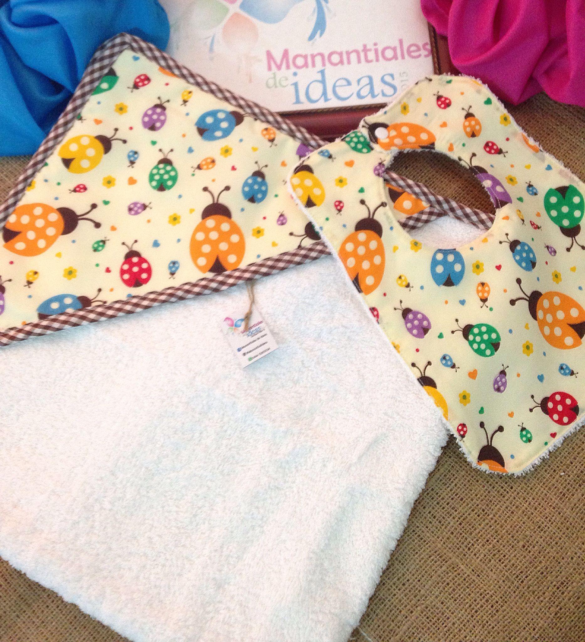 Set de baño. Toalla y babero   Toallas / Towel   Pinterest   Towels