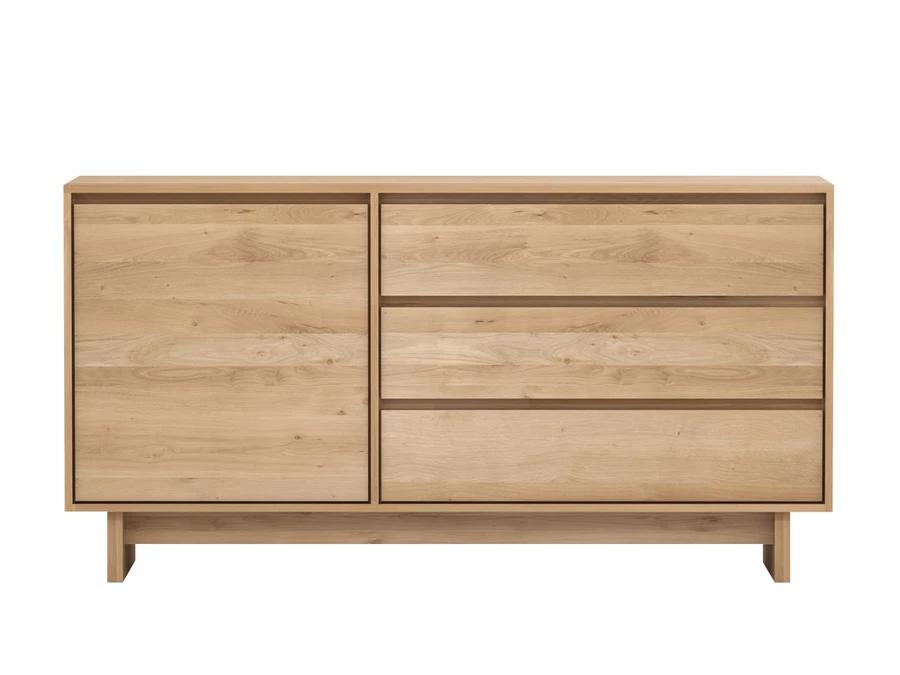 Wave Sideboard Oak Oak Sideboard Modern Storage Furniture Ethnicraft Furniture