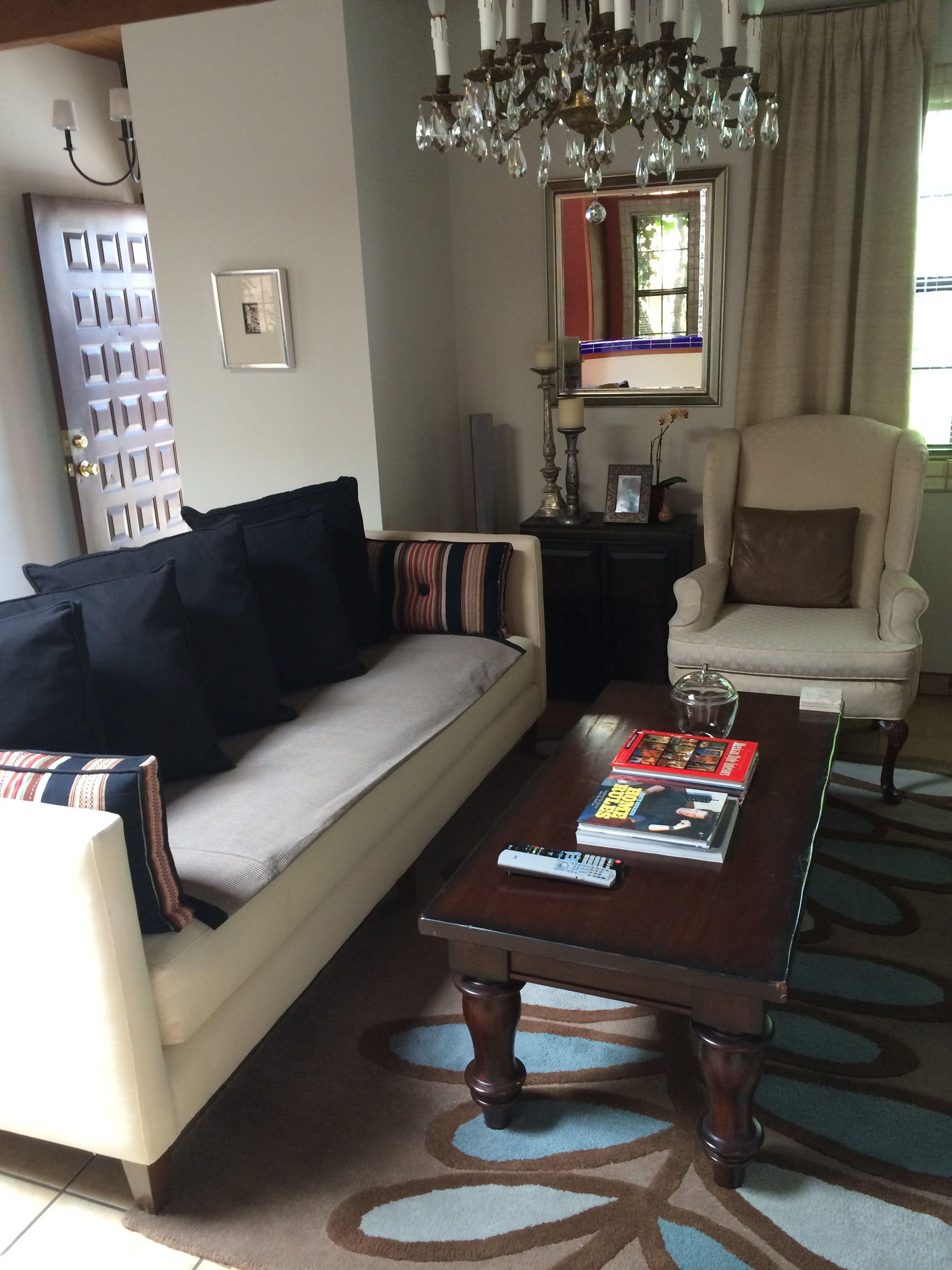Living room. Crate & Barrel sofa | Furniture, Home decor, Sofa