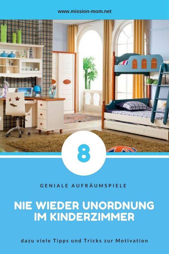 Aufräumen Tipps so hast du endlich ordnung im kinderzimmer tipps 8 aufräumspiele