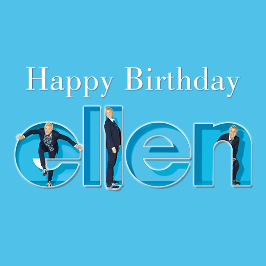Happybirthday To Ellendegeneres The Multi Talented And The Most Loved Comedienne Of Our Generation Enjoy The F Birthday Images Funny Moments Ellen Tv