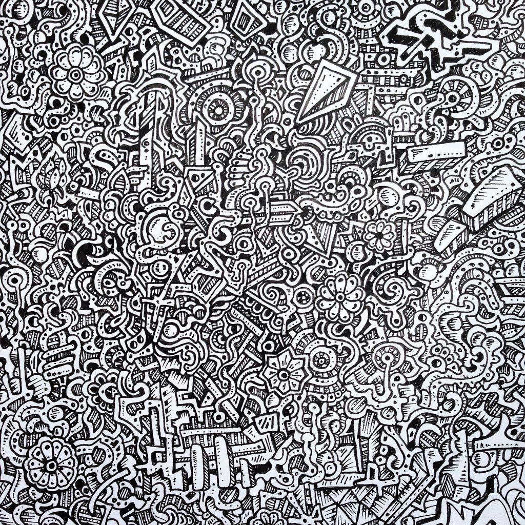 Zentangle pattern detailed drawing nikita grabovskiy for Cool detailed drawings