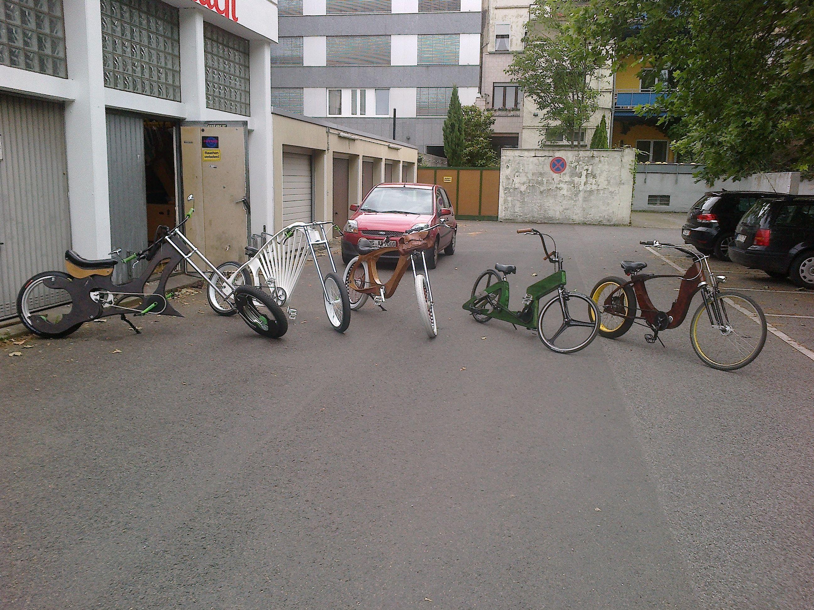 """""""the gang"""" www.holzcruiser.de"""