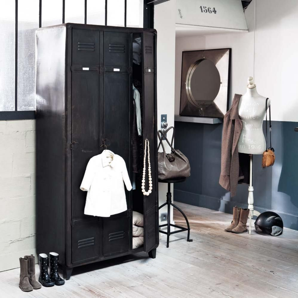 dressing vestiaire indus edison sur maisons du monde dcouvrez tous les meubles et objets de dcoration pour la chambre de vos enfants ou de bb sur