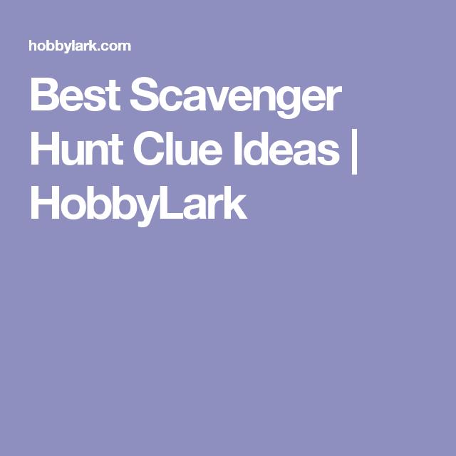Christmas Gift Scavenger Hunt Riddles: Best Scavenger Hunt Clue Ideas