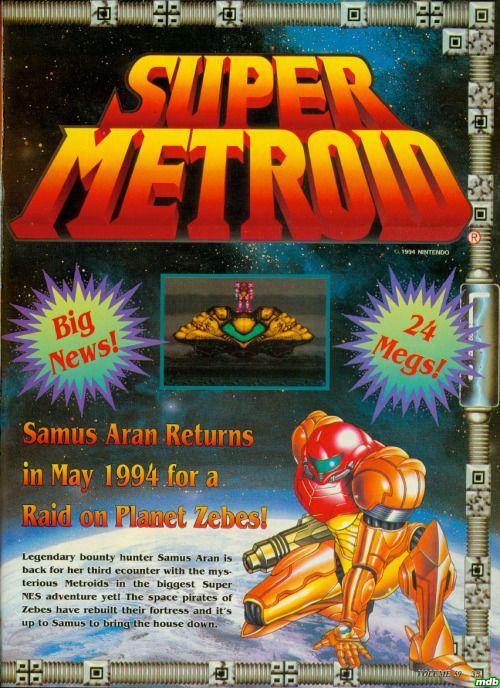 Super Metroid (SNES) - http://www.megalextoria.com/wordpress/index.php/2016/09/30/super-metroid-snes/