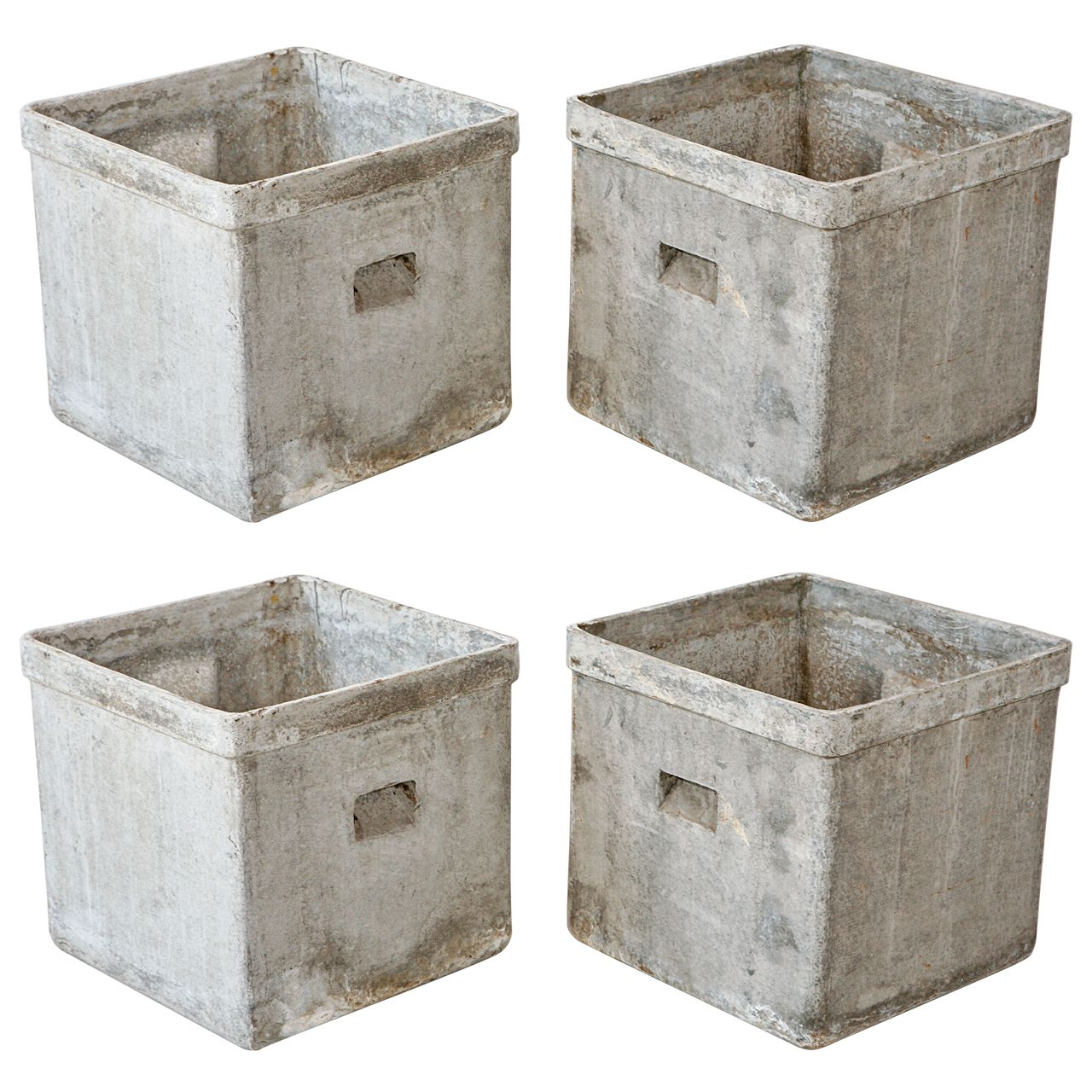 Contemporary Pots And Planters Modern Concrete And Resin Planter Fernhill Landscaping