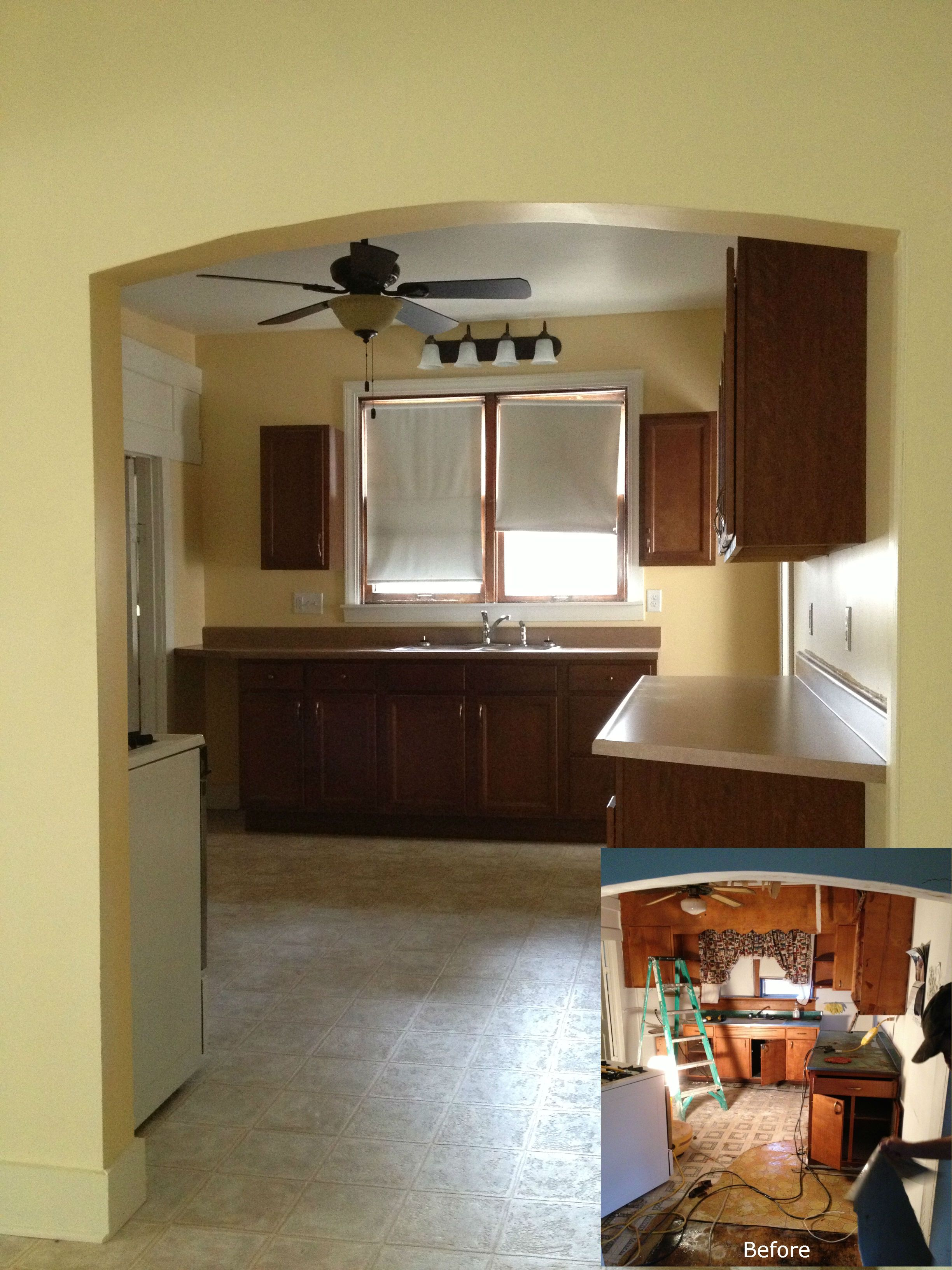 Kitchen Remodel Completed By J.J. Swartz Co.   Decatur, IL