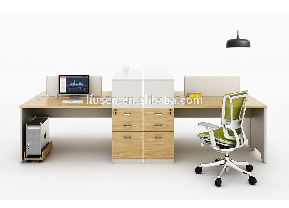 Price Factory Direct Standard Office Furniture Dimensions 4 Seat Workstation Desk In China On Alibaba